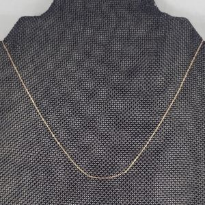 Solid 18k Rose Gold Chain
